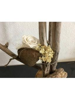 Rose stabilisée petites fleurs