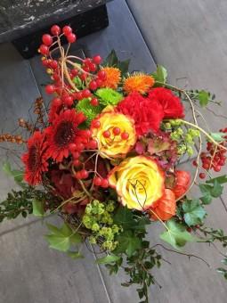 Bouquet aux fleurs sauvages