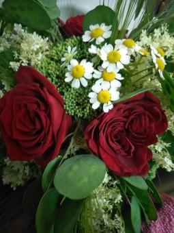 Bouquet rouge