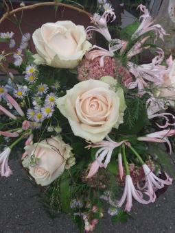 Bouquet pastel rose
