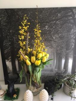 Bouquet de tulipes avec son...