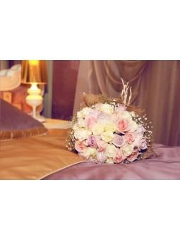 Bouquet de mariée ROSE CLAIRE
