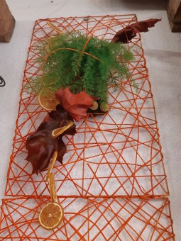 Tableau Végétal Fil Orange