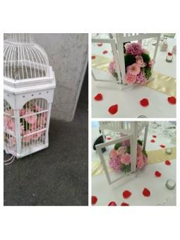 Arrangement de table cage à...
