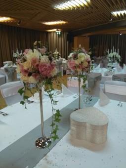 Arrangement de table blanc...