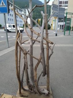 Parois en bois flotté