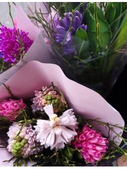 Bouquet de jacinthes