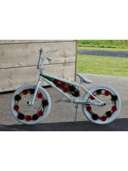 Vélo décoré